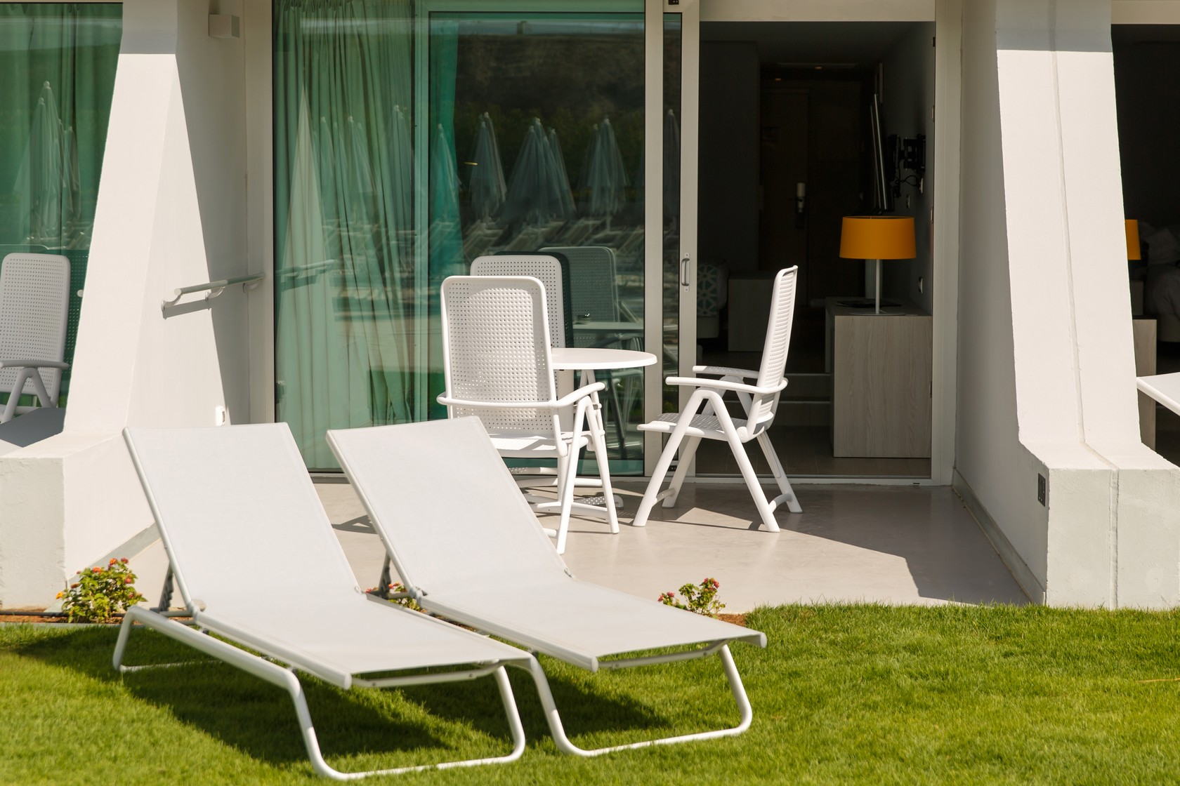 Suites con terraza